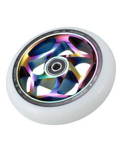 Blunt Envy 120mm/30mm Tri Bearing Wheel - Oil Slick and White